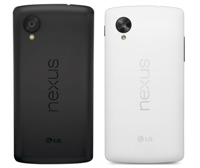 nexus-5-white-black Google Releases Its Nexus 5 that Is Powered by Android 4.4, KitKat