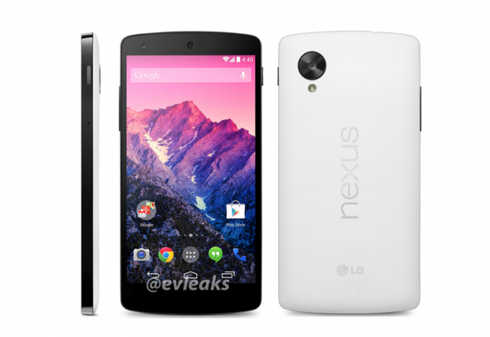 nexus-5-white1 Google Releases Its Nexus 5 that Is Powered by Android 4.4, KitKat