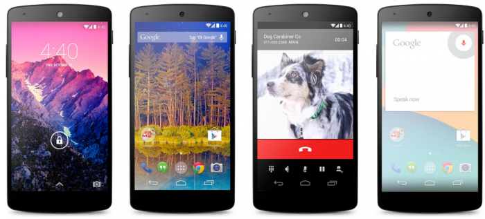nexus-5. Google Releases Its Nexus 5 that Is Powered by Android 4.4, KitKat