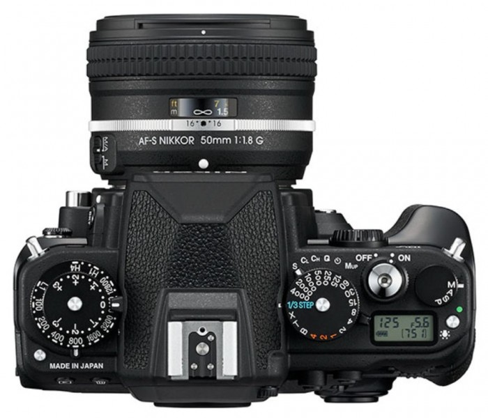 nikdf-top Nikon Df Camera As an Exceptional Combination Between the Classic Shape & Advanced Performance