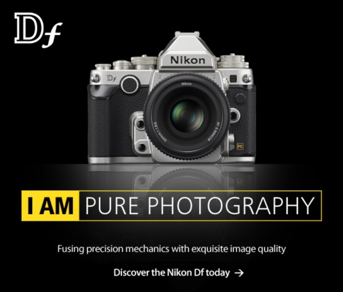 nikon-homepage-df-banner Nikon Df Camera As an Exceptional Combination Between the Classic Shape & Advanced Performance