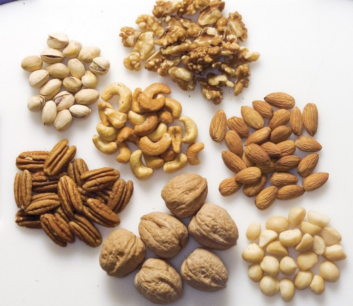 nuts2. 10 Types of Food to Provide You with Longevity & Good Health