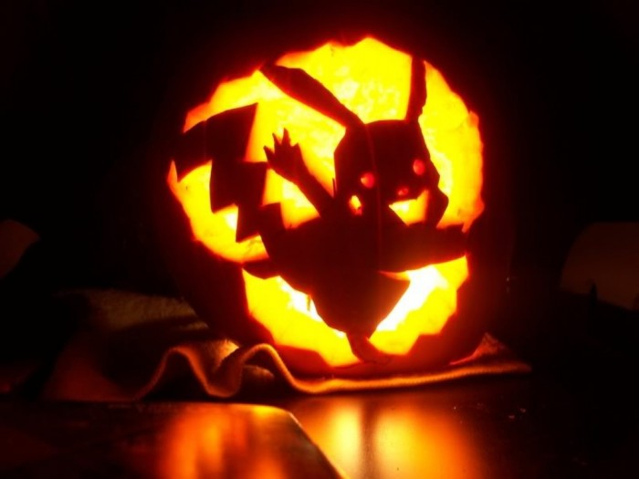 pokemon-pumpkin-carving-patterns Top 60 Creative Pumpkin Carving Ideas for a Happy Halloween