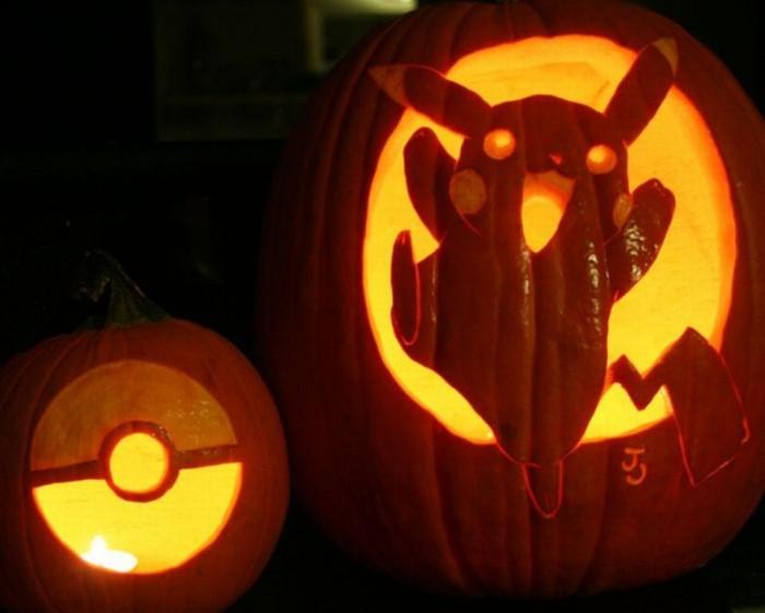 pokemon_pumpkins_10 Top 60 Creative Pumpkin Carving Ideas for a Happy Halloween