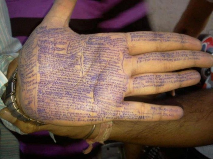 prepisivanje-11 Unbelievable & Creative Methods for Cheating on Exams