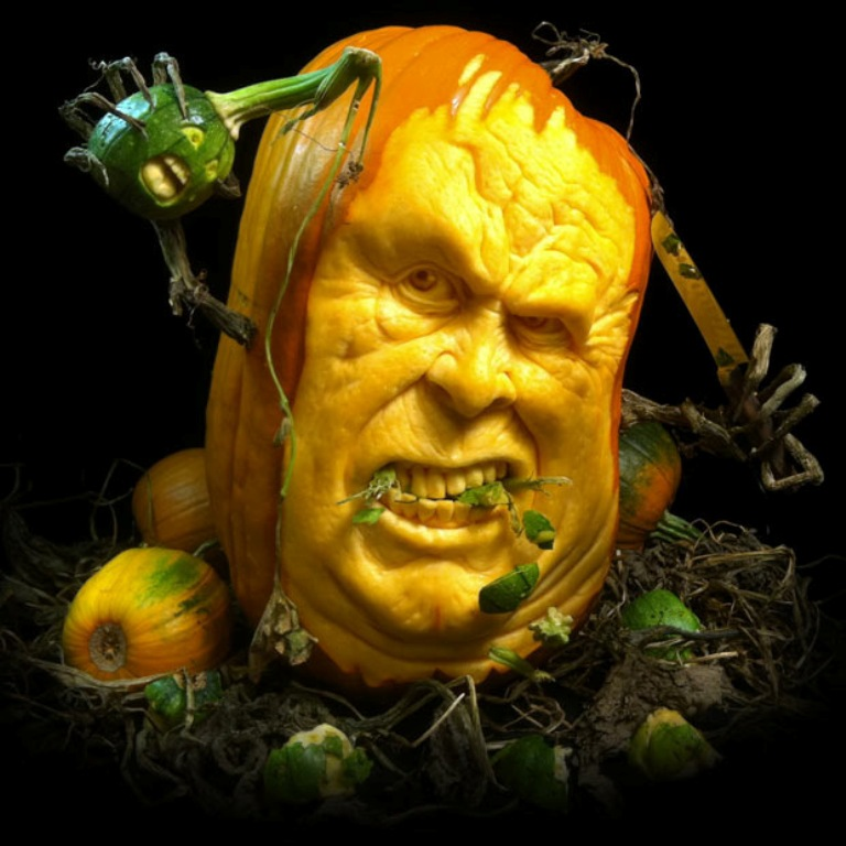 pumpkin-3 Top 60 Creative Pumpkin Carving Ideas for a Happy Halloween