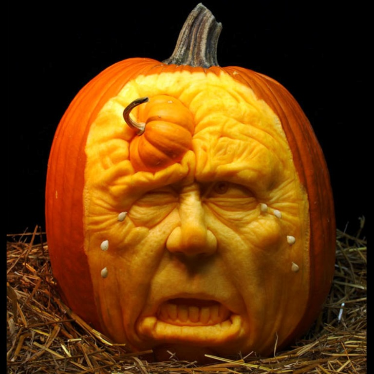 pumpkin-6 Top 60 Creative Pumpkin Carving Ideas for a Happy Halloween