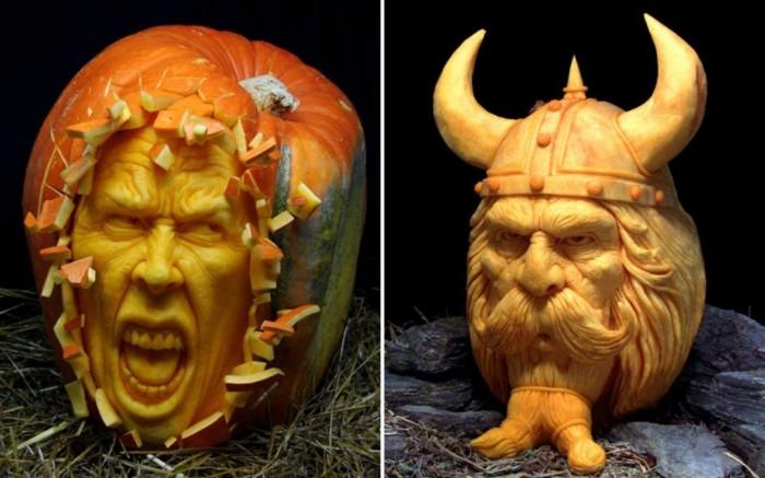 pumpkin-carving-4_2369177k Top 60 Creative Pumpkin Carving Ideas for a Happy Halloween