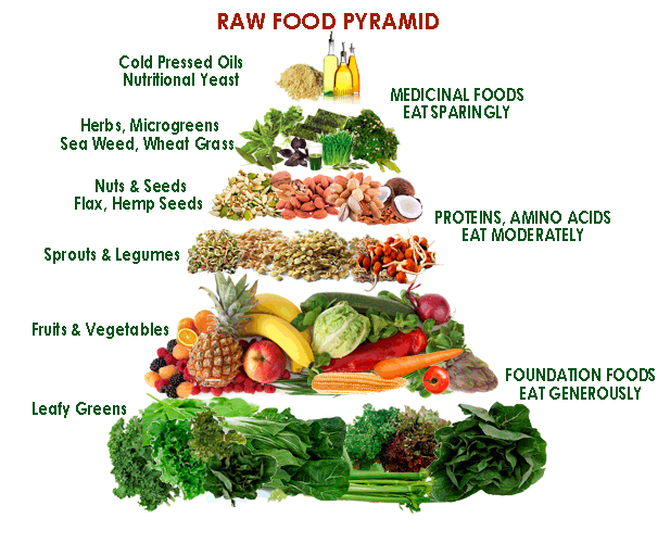rawfoodpyramid Harnessing the Power of Raw Food
