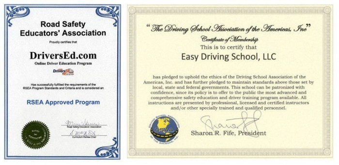 rsea-dsaa-letter Learn How to Drive at Your Own Pace & Be Safe with DriversEd.com