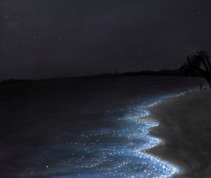 shimmering__waters_by_transformertard-d69izv6 Magnificent and Breathtaking Blue Waves that Glow at Night