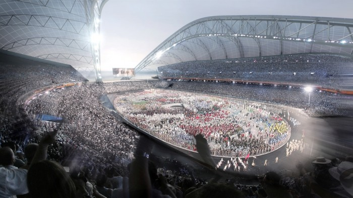 stadium2 The Countdown to Sochi 2014 Winter Olympics Has Started