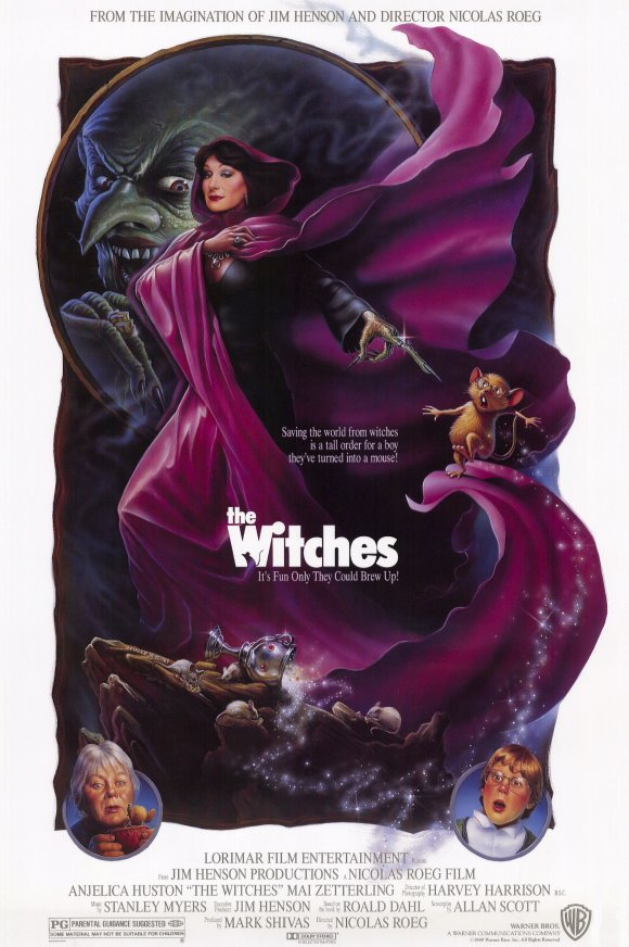 the-witches-movie-poster-1991-1020209776 Top 10 Best & Most Interesting Kids Halloween Movies of All Time