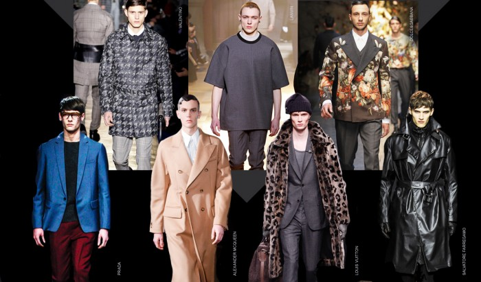 trend-review-men-fw-2014-from-milan-london-paris-fashion-weeks-2013 2017 Winter Fashion Trends for Men to Look Fashionable & Handsome ... [UPDATED]