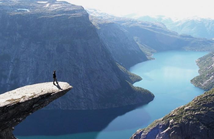 trolltunga-norway. Adventure Travel Destinations to Enjoy an Unforgettable Holiday