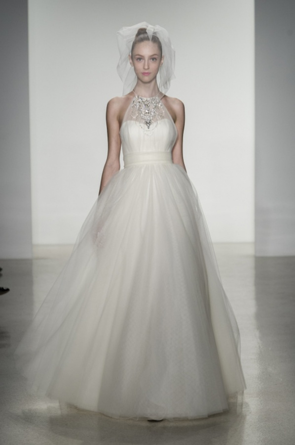 tulle-wedding-dresses-by-Amsale-trend-from-fall-2014-bridal-market-8 47+ Creative Wedding Ideas to Look Gorgeous & Catchy on Your Wedding