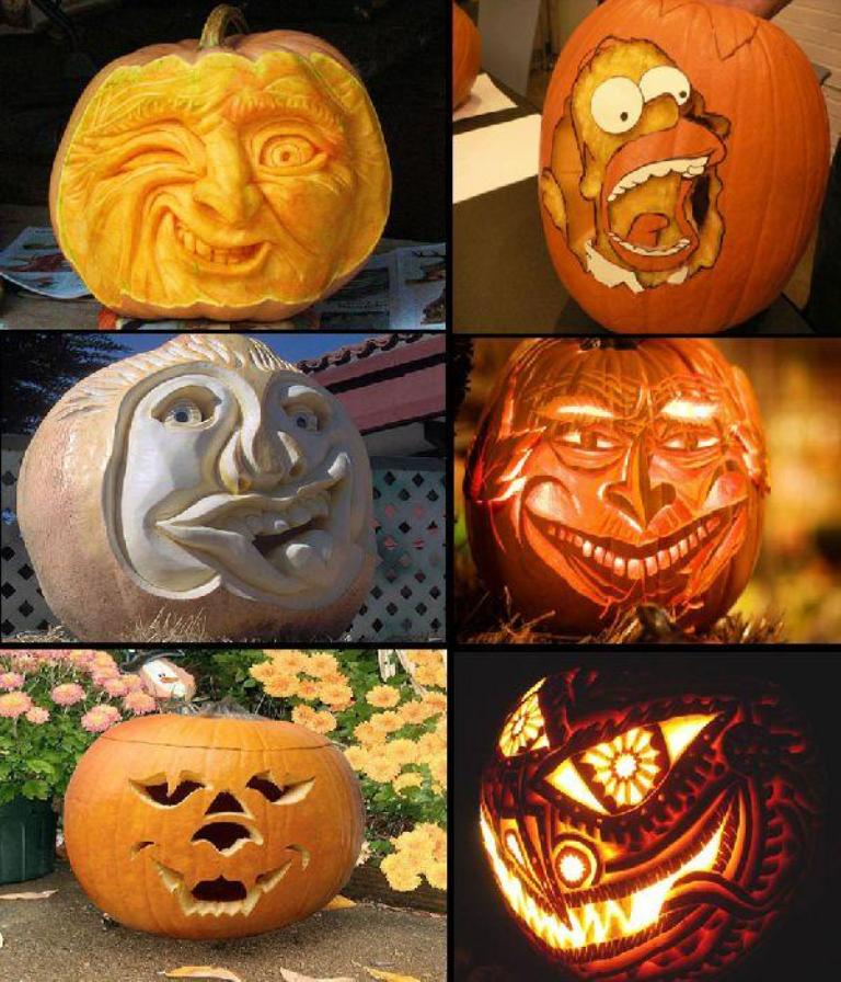 unique-halloween-pumpkin-carving-image Top 60 Creative Pumpkin Carving Ideas for a Happy Halloween