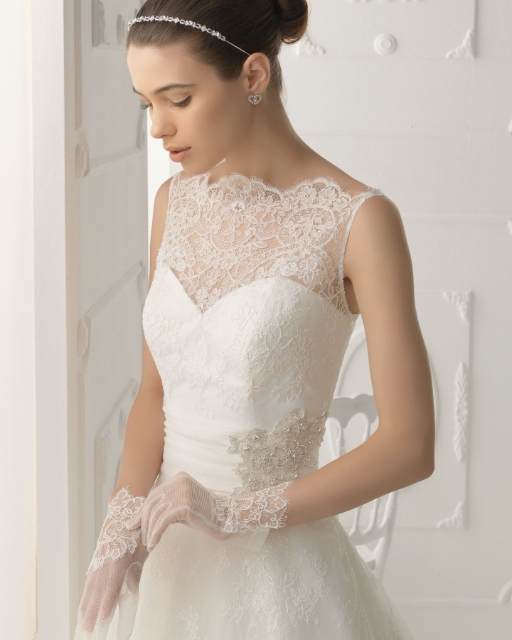 vestido_de_novia_aire_2014_1c52 47+ Creative Wedding Ideas to Look Gorgeous & Catchy on Your Wedding