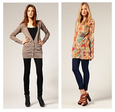 what-to-wear-with-skinny-jeans-longline-tops 10 Expert Tips For Women To Look Taller