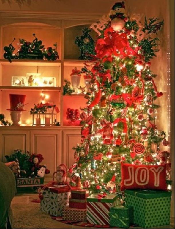 0000000000 79 Amazing Christmas Tree Decorations