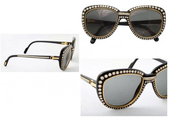 0128 39 Most Stylish Gold and Diamond Sunglasses in 2019