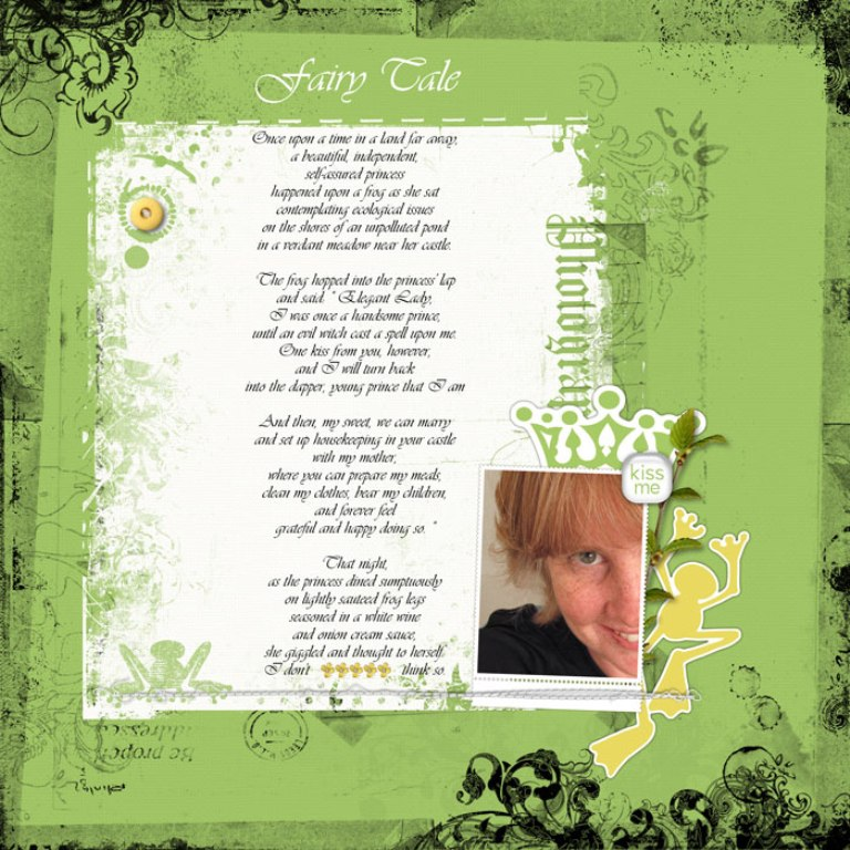 10-09-Fairy-TaleWEB Best 65 Scrapbooking Ideas to Start Creating Yours