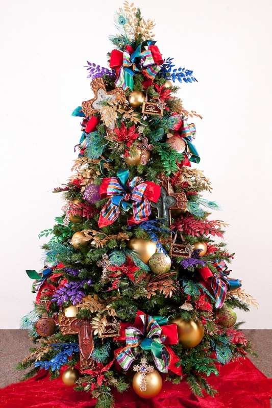 15-Unique-Christmas-Tree-Designs-161 79 Amazing Christmas Tree Decorations