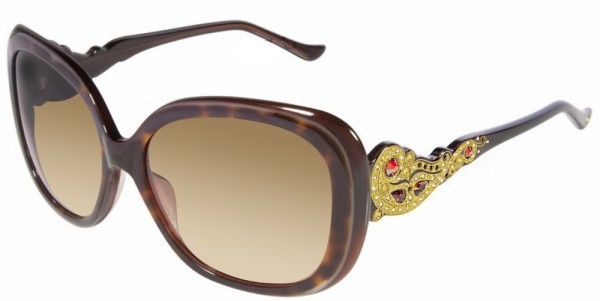 1637_02 39 Most Stylish Gold and Diamond Sunglasses in 2019