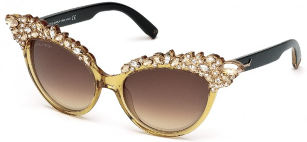 2-gafas-mujer-dsquared2-oro 39 Most Stylish Gold and Diamond Sunglasses in 2019