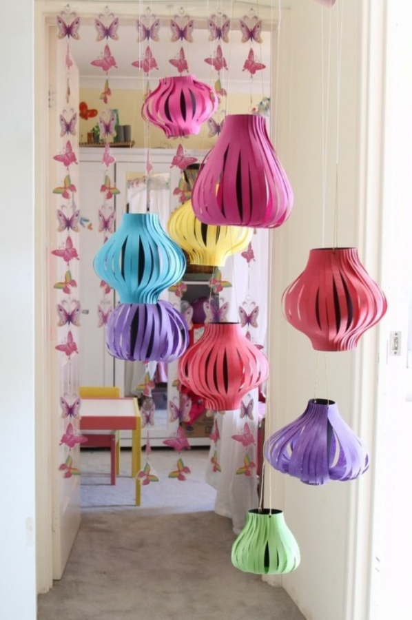 2014-New-Year-Gift-Ideas-Colorful-Paper-Crafts-For-Home-Decor Awesome & Breathtaking Ideas for New Year's Holiday Decorations
