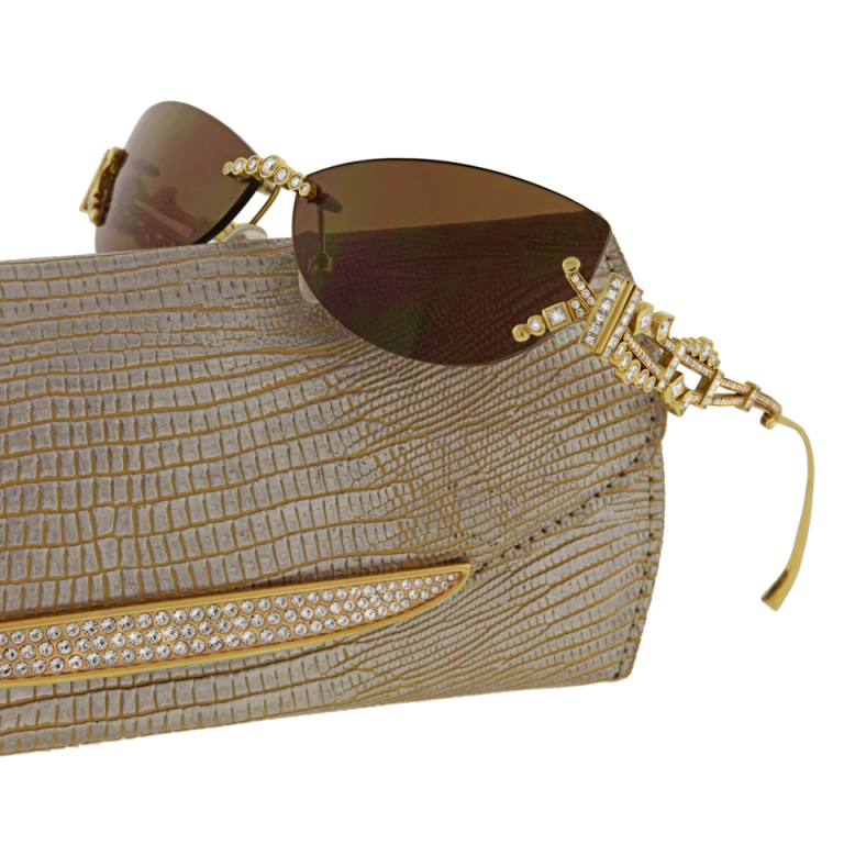230_1336500278_1 39 Most Stylish Gold and Diamond Sunglasses in 2019