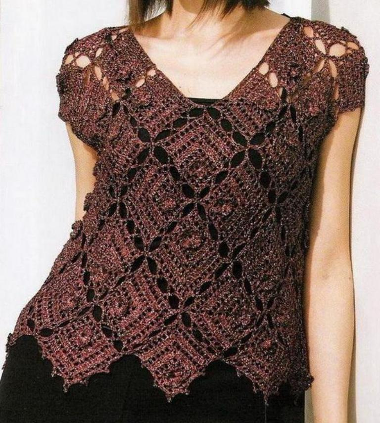5-crochet-sweater 10 Fascinating Ideas to Create Crochet Patterns on Your Own