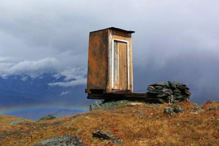 53854 The Remotest Bathroom in the World, Do You Know Where Is It?