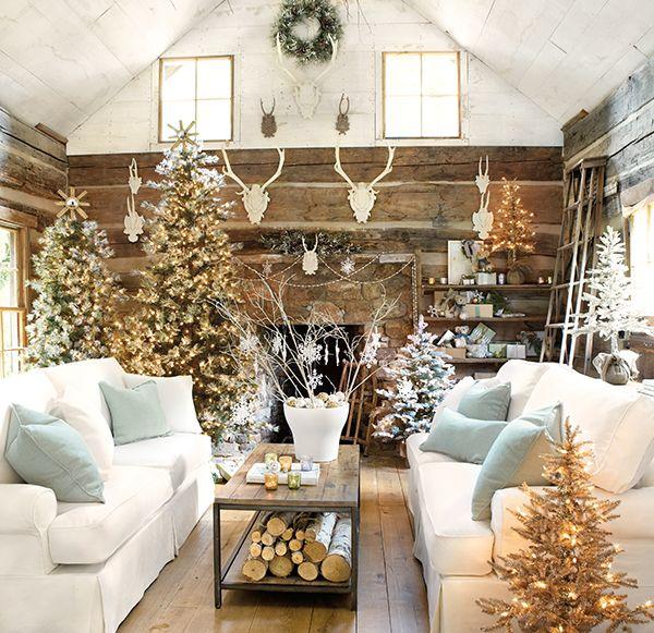 600spectacular-white-christmas-decoration 79 Amazing Christmas Tree Decorations