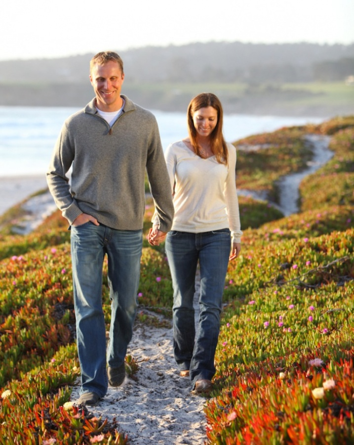 Aaron_Snow_Photography.Carmel_California.Pebble_Beach.Big_Sur.Engagement_Photos.Molly-and-Matt-Koehler.3 Top 10 Romantic Vacation Spots for Couples to Enjoy Unforgettable Time