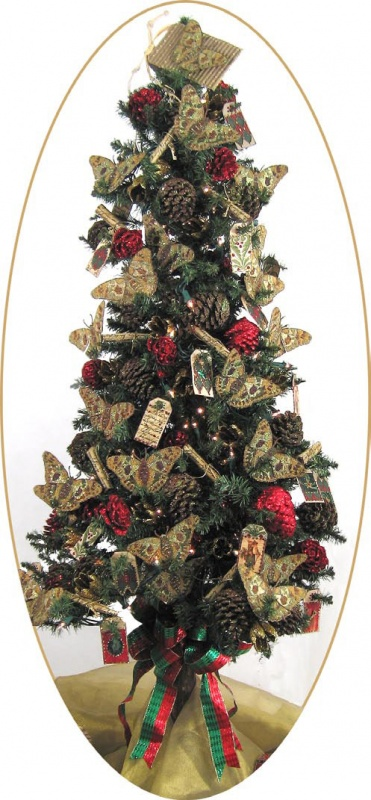 Art-Glitter-Elements-Christmas-Tree 79 Amazing Christmas Tree Decorations