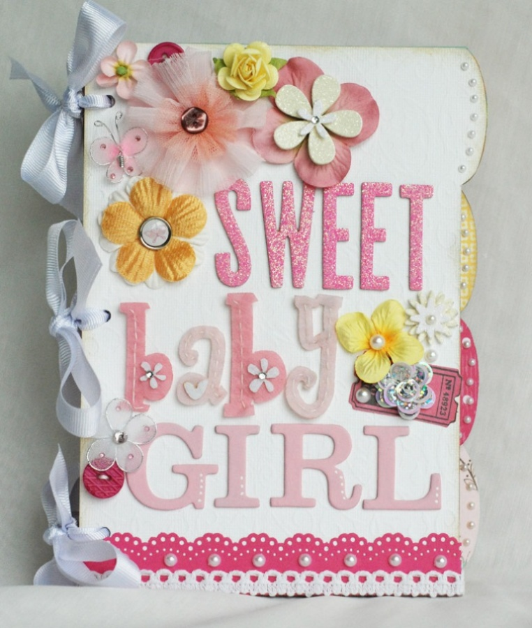 Baby-Girl-Mini Best 65 Scrapbooking Ideas to Start Creating Yours
