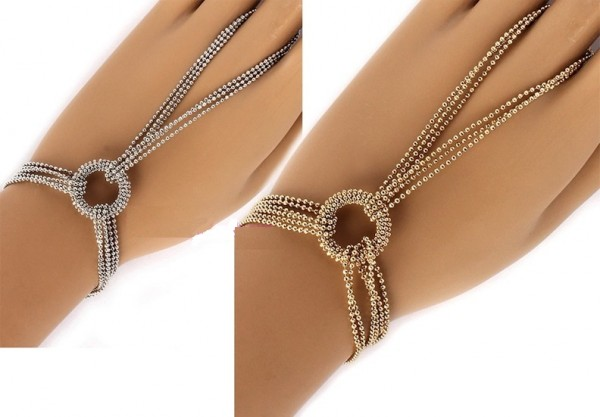 Beaded-Chain-Ringlet-Bracelet-wring 65 Hottest Hand Back Jewelry Pieces for 2020