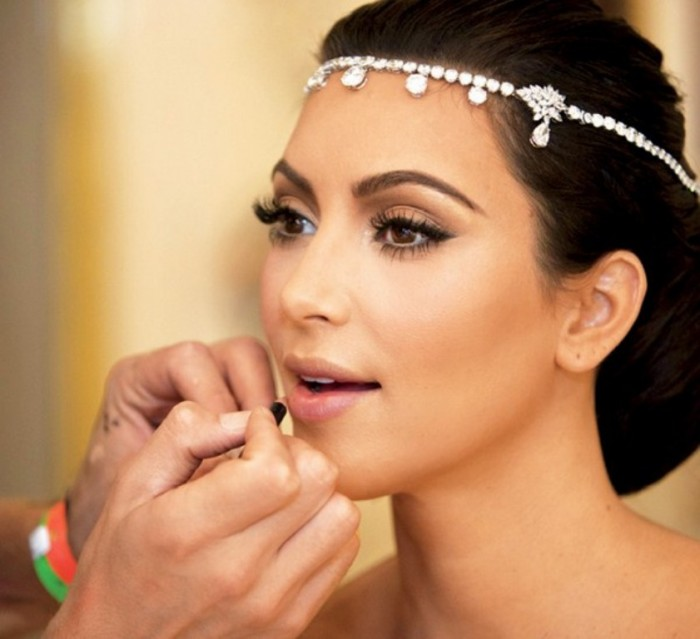 Bridal-Makeup-For-Fair-Skin-0011 Differences between Engagement & Wedding Make-up, What Are They?