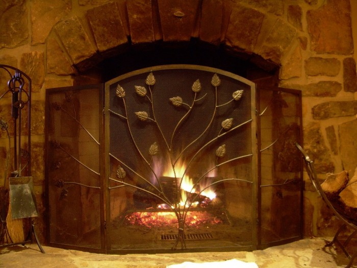Cabin_fireplace Did You Throw Your Christmas Tree? If It Is Not, Don't Do This