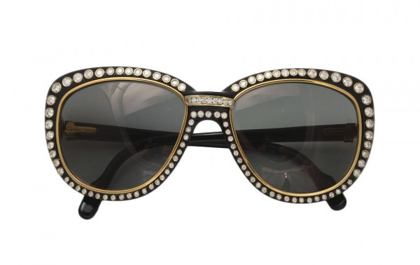 Cartier-Vintage-Diamond-Sunglasses 39 Most Stylish Gold and Diamond Sunglasses in 2018