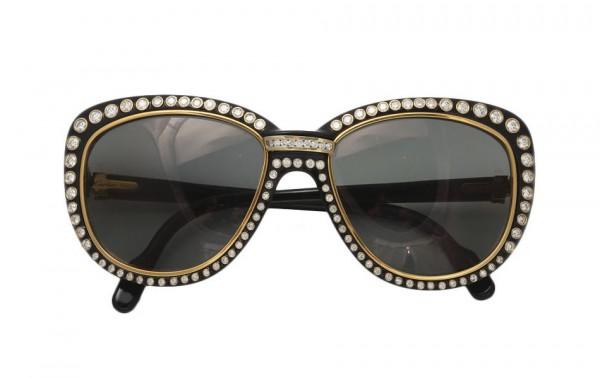 Cartier-Vintage-Diamond-Sunglasses 39 Most Stylish Gold and Diamond Sunglasses in 2021