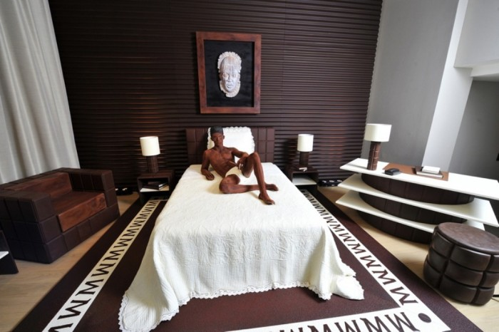 Chocolate-Suite Top 30 World's Weirdest Hotels ... Never Seen Before!
