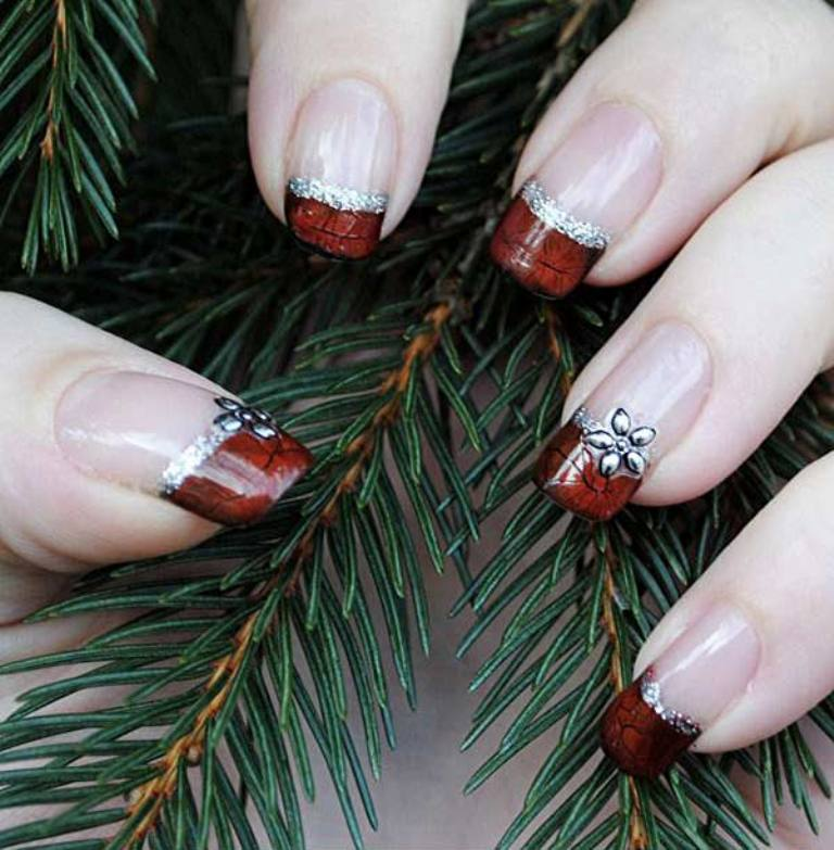 Nail art There are different nail art designs such as V cut trend for nails and other nail art ideas from which you can choose what suits you.