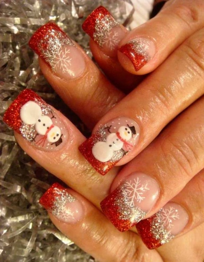 Christmas Nail Art Design Ideas 2013 2014 21 What Are the Latest Beauty Trends for 2014?