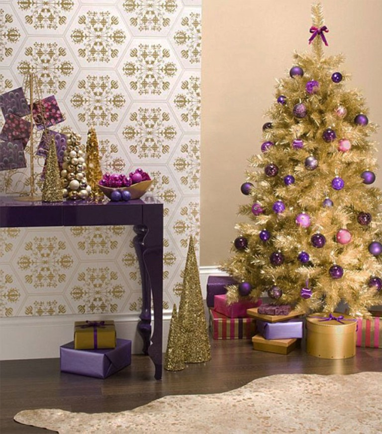 Christmas-Tree-Decorating-Ideas-20141 65+ Dazzling Christmas Decorating Ideas for Your Home in 2019
