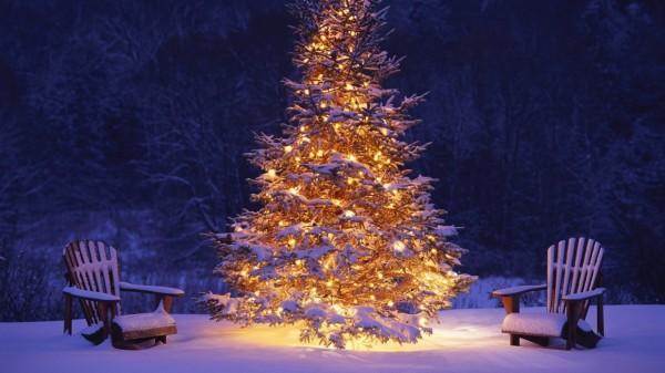 Christmas-Tree-Snow-Decorations-Wallpaper-HD-1280x720 79 Amazing Christmas Tree Decorations
