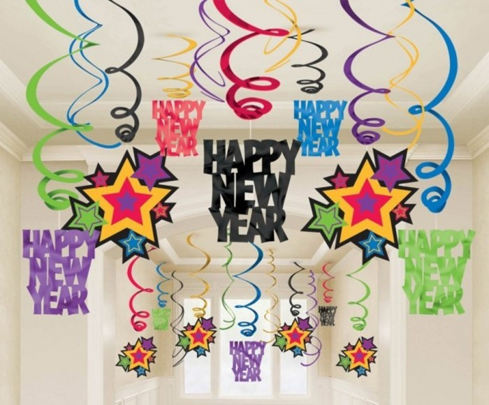 Colorful-Happy-New-Years-Decorating-Ideas-615x5101 45+ Latest & Most Gorgeous Greeting Cards for a Happy New Year
