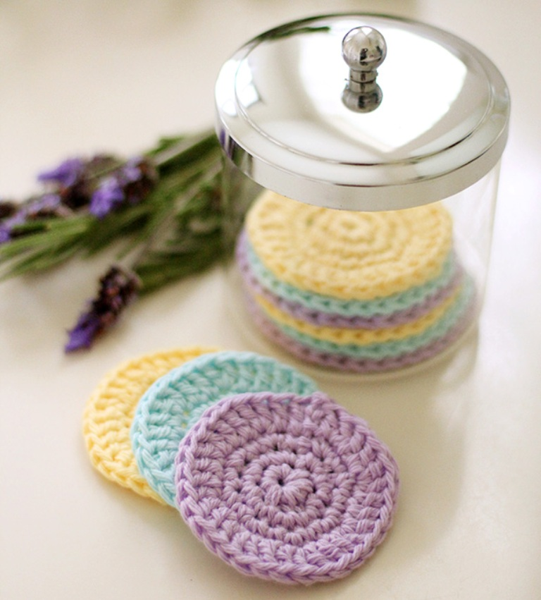 Copy-of-Crochet-Face-Scrubbie-2 Stunning Crochet Patterns To Decorate Your Home & Make Accessories