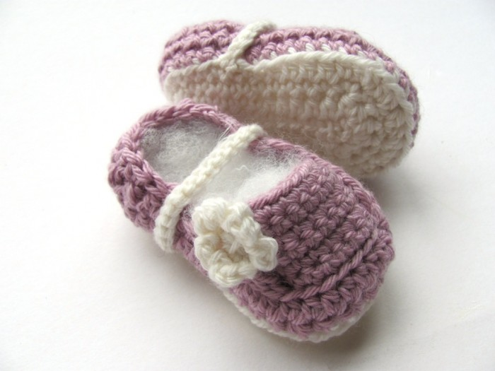 Crochet-Baby-Slippers 10 Fascinating Ideas to Create Crochet Patterns on Your Own